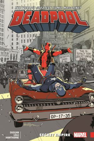 Deadpool: World's Greatest Vol. 10 - Secret Empire (Trade Paperback)