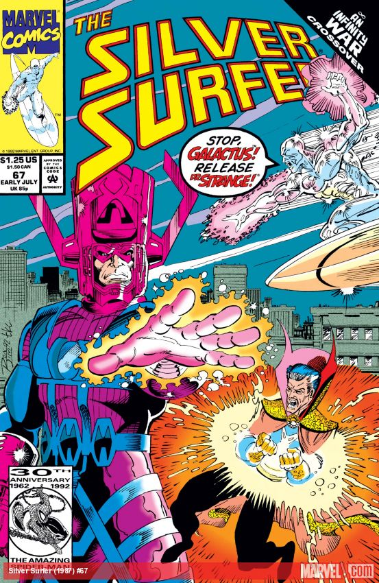 Silver Surfer (1987) #67