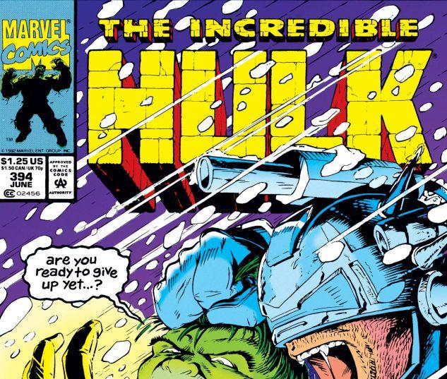 Incredible Hulk (1962) #394