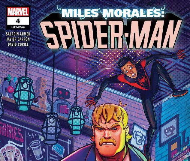 Miles Morales: Spider-Man (2018) #4