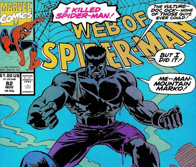 Web of Spider-Man (1985) #82