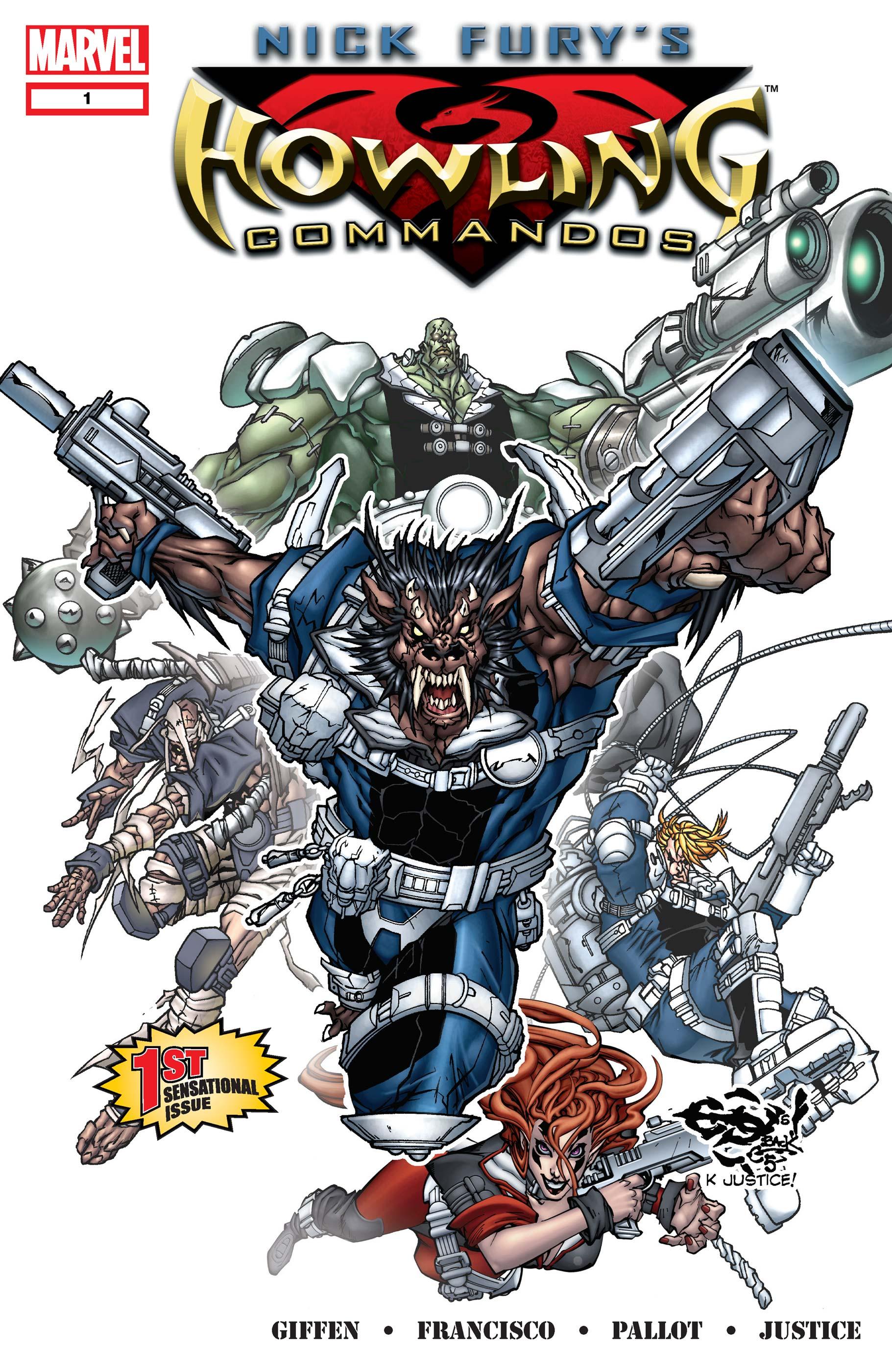 Nick Fury's Howling Commandos (2005) #1