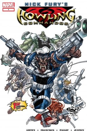 Nick Fury's Howling Commandos #1