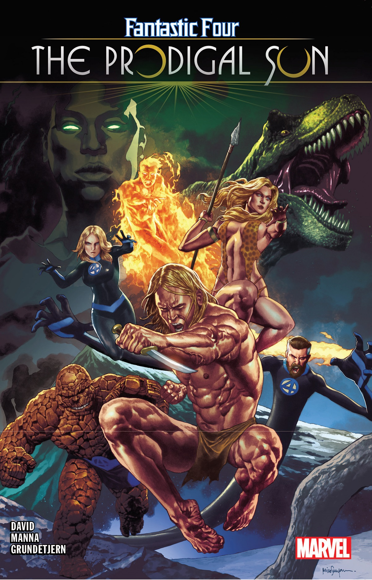 Fantastic Four: The Prodigal Sun (Trade Paperback)