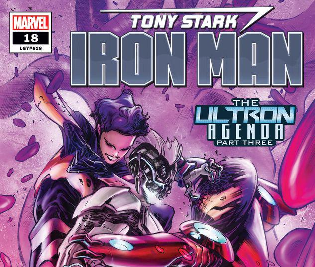 Tony Stark: Iron Man #18