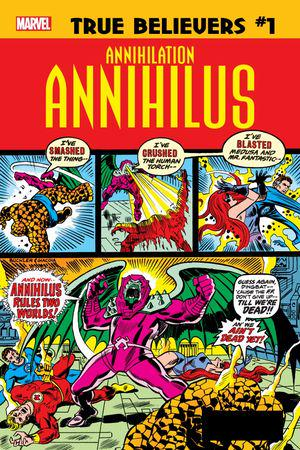 True Believers: Annihilation - Annihilus (2019) #1