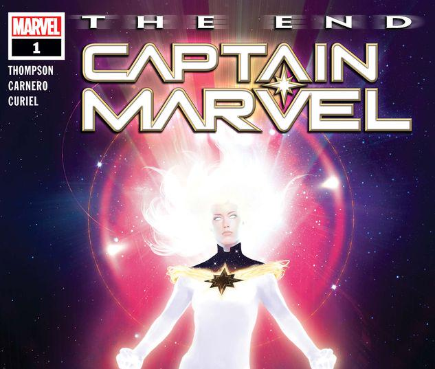 CAPTAIN MARVEL: THE END 1 #1