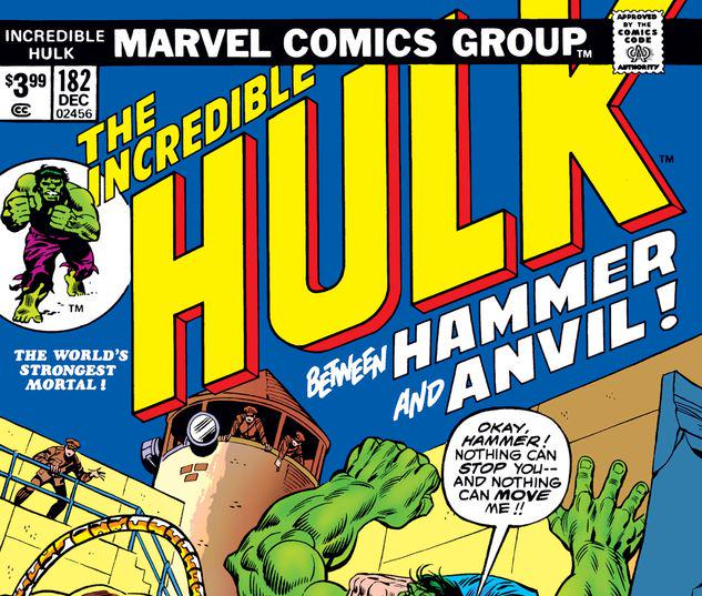 INCREDIBLE HULK 182 FACSIMILE EDITION #1