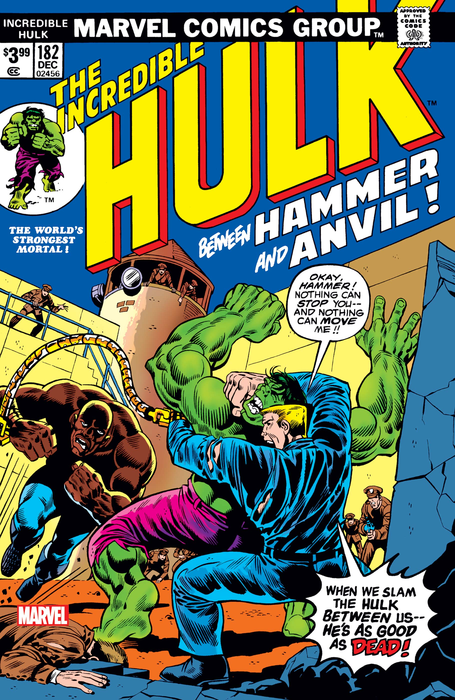 Incredible Hulk: Facsimile Edition (2020) #182
