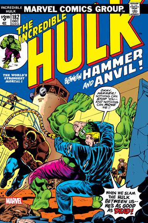 Incredible Hulk: Facsimile Edition #182