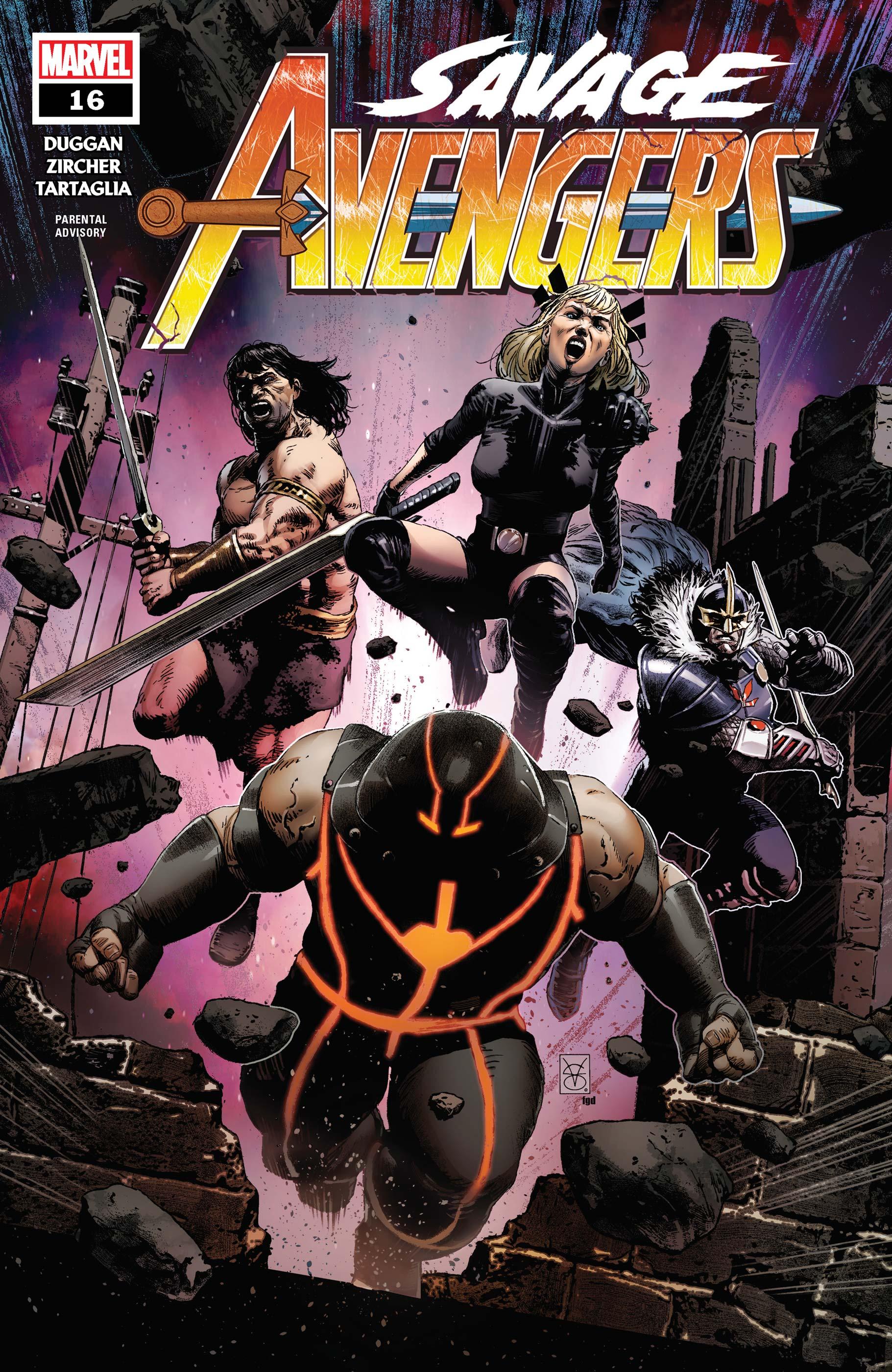 Savage Avengers (2019) #16