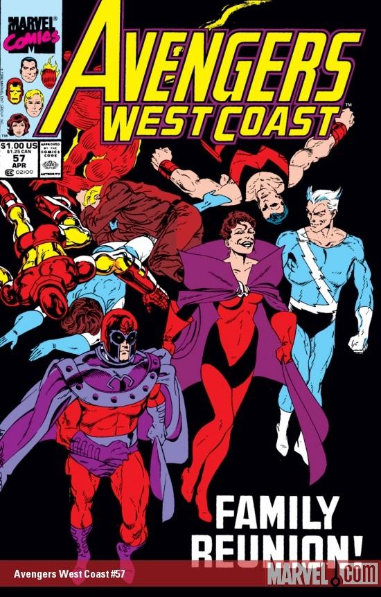 West Coast Avengers (1985) #57