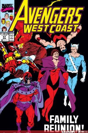 West Coast Avengers #57
