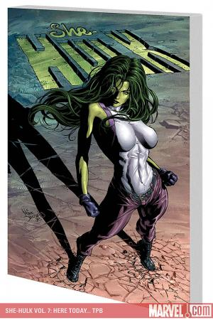She-Hulk Vol. 7: Here Today... (Trade Paperback)