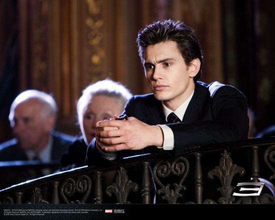 Spider-Man 3 Movie: Harry Osborn in Theatre Balcony