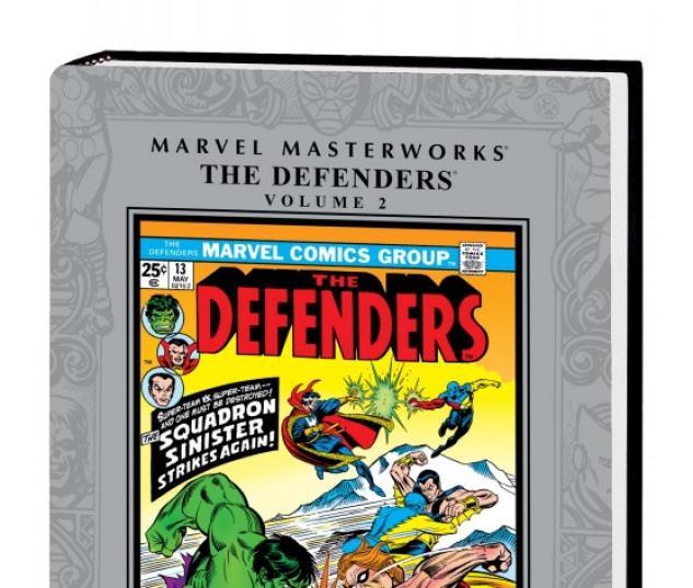 Marvel Masterworks: The Defenders Vol. 2 (Hardcover)