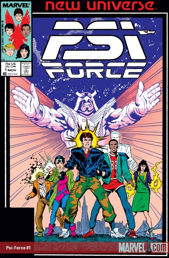 Psi-Force (1986) #1