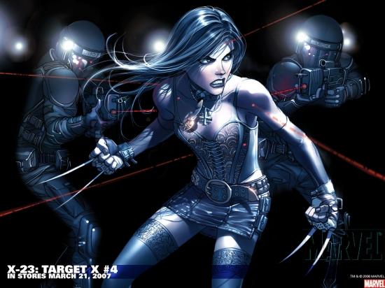 X-23: Target X (2006) #4 Wallpaper