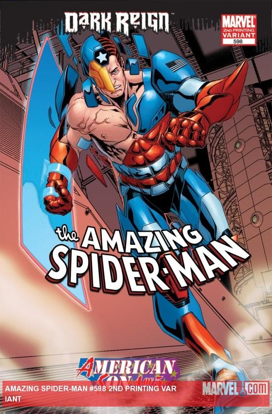 Amazing Spider-Man (1999) #598 (2ND PRINTING VARIANT)