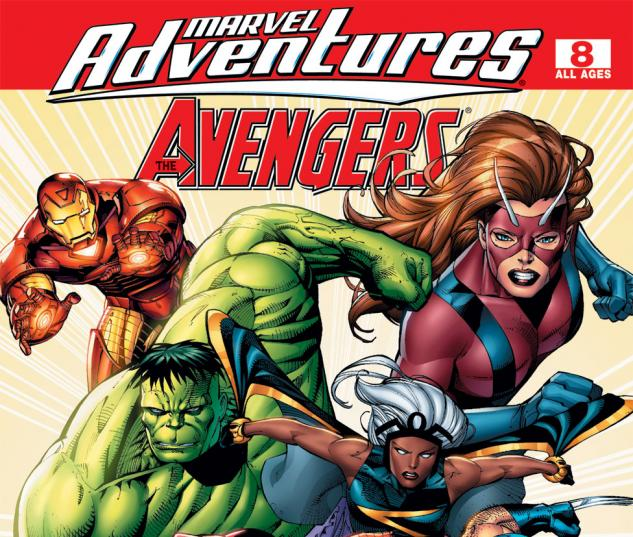 Marvel Adventures the Avengers (2006) #8