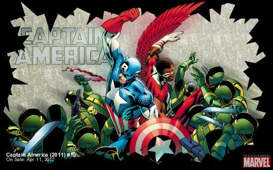Captain America (2011) #10