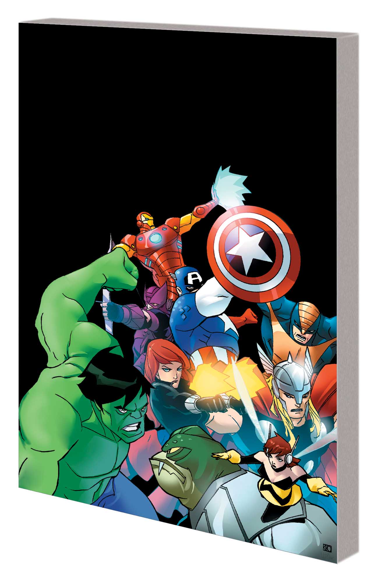 MARVEL UNIVERSE AVENGERS EARTH'S MIGHTIEST HEROES VOL. 2 DIGEST (Digest)