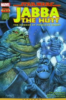 Star Wars: Jabba The Hutt - The Hunger Of Princess Nampi #1