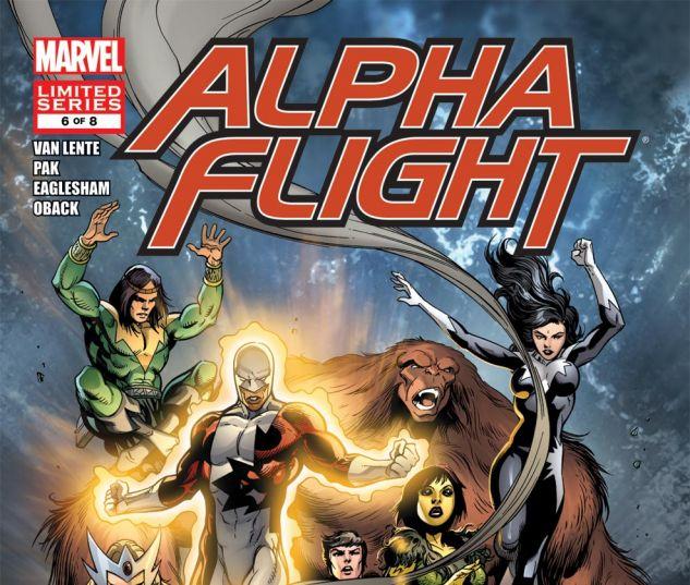 Alpha Flight (2011) #6 Cover