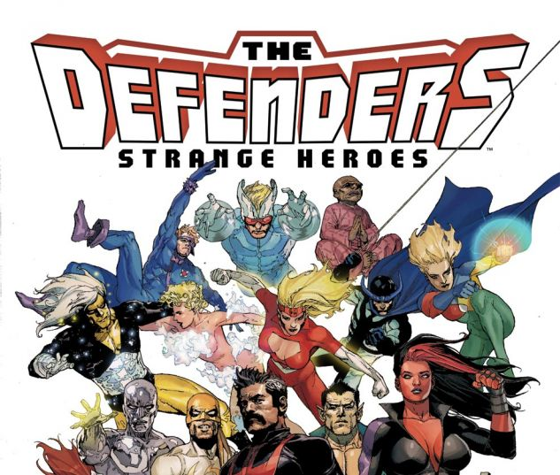 The Defenders # 1 comic. Yaffa/Page Aus reprint