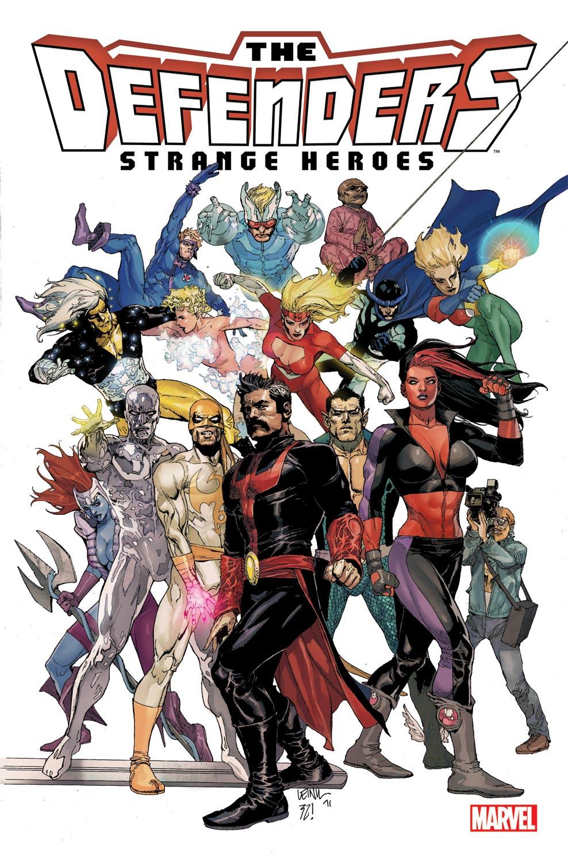 Defenders: Strange Heroes (2011) #1