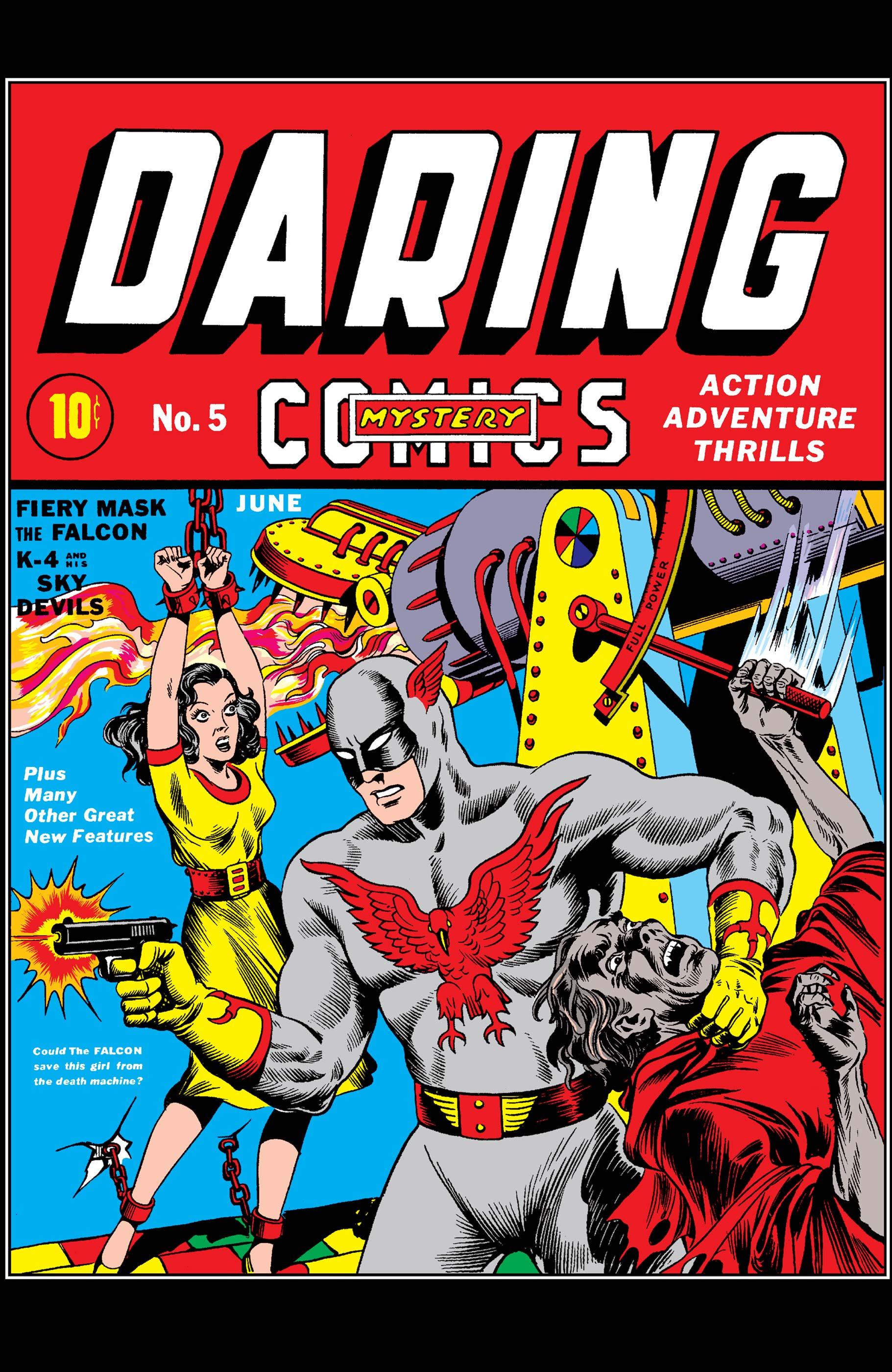Daring Mystery Comics (1940) #5