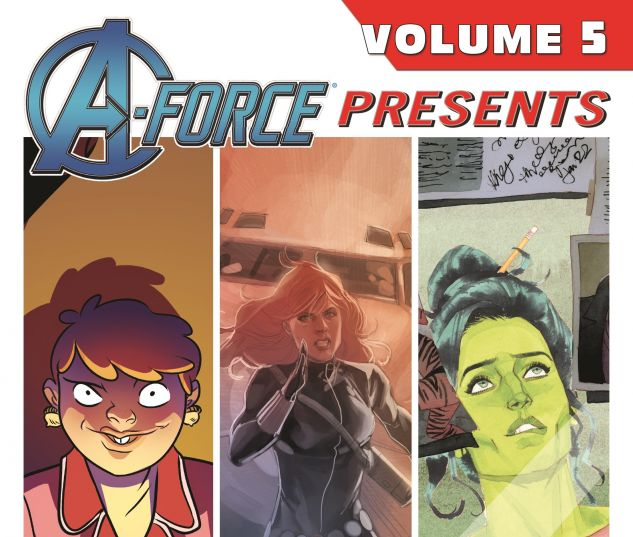 A-FORCE PRESENTS VOL. 5