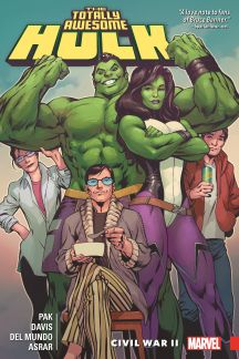 The Totally Awesome Hulk Vol. 2: Civil War II (Trade Paperback)