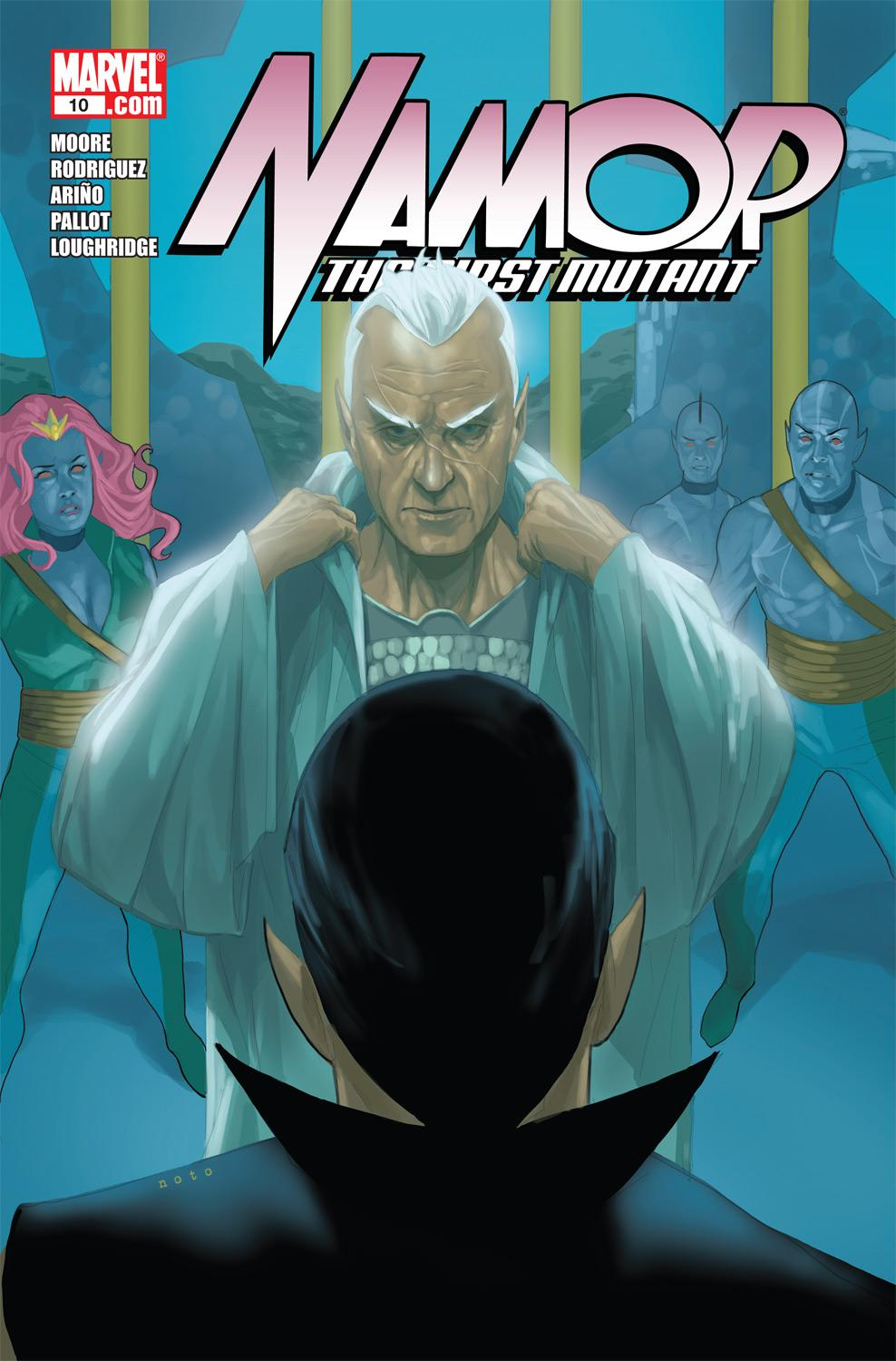 Namor: The First Mutant (2010) #10