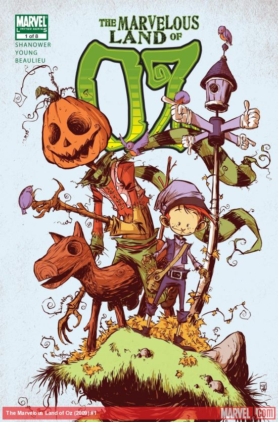 The Marvelous Land of Oz (2009) #1