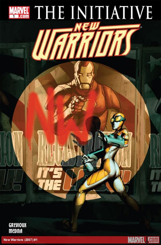 New Warriors (2007) #1