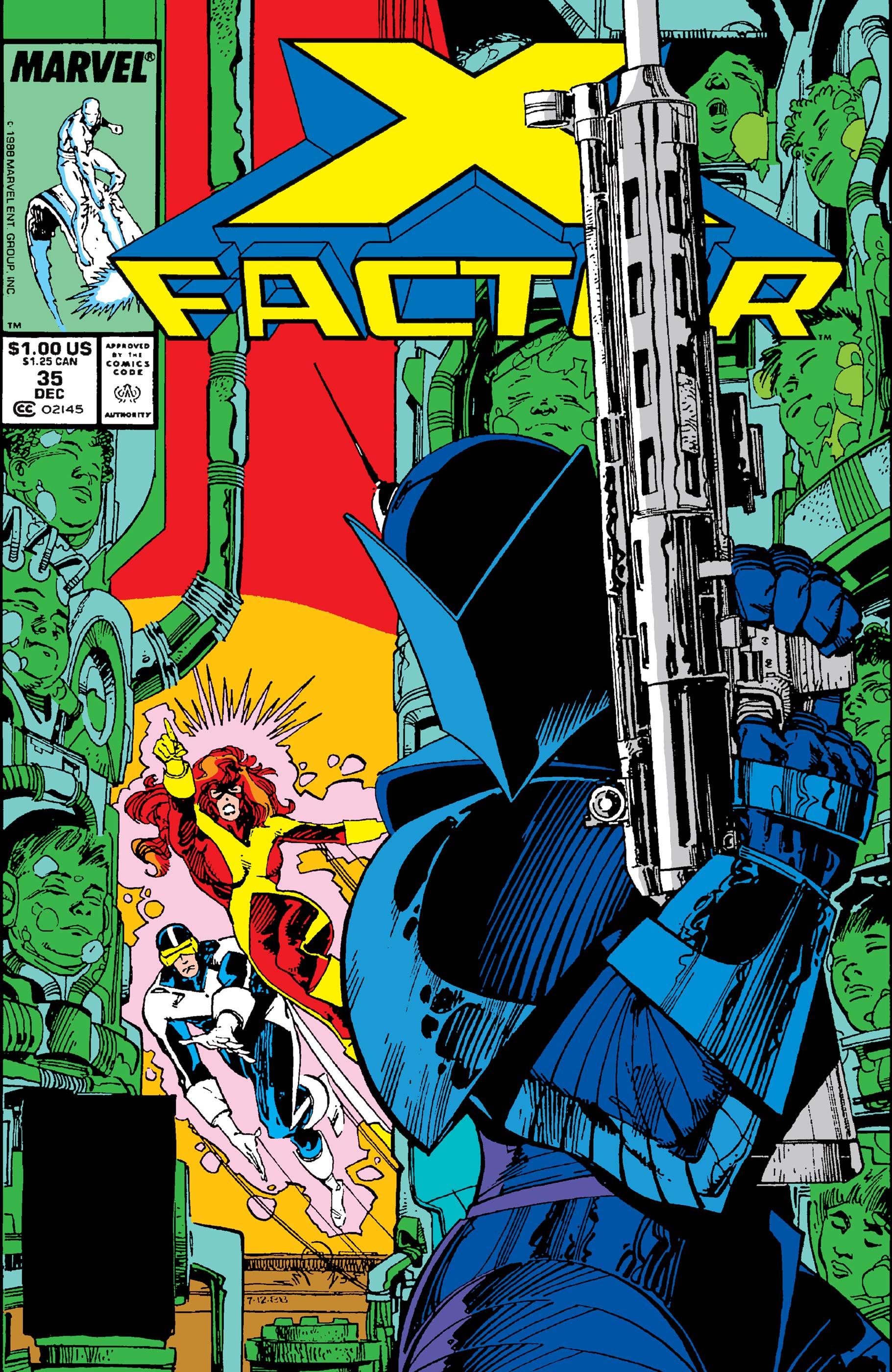 X-Factor (1986) #35