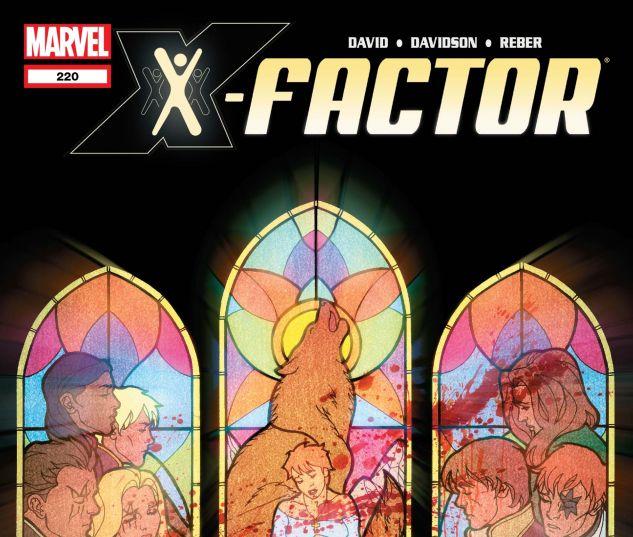 X-FACTOR (2005) #220