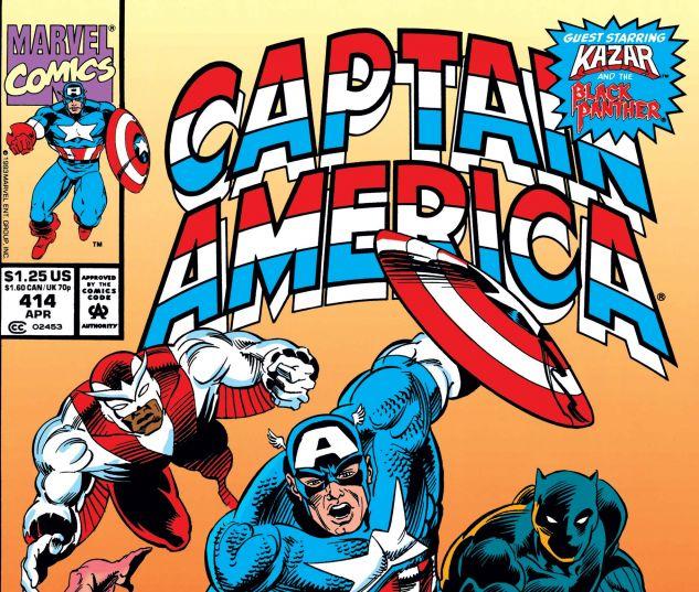 Captain America (1968) #414