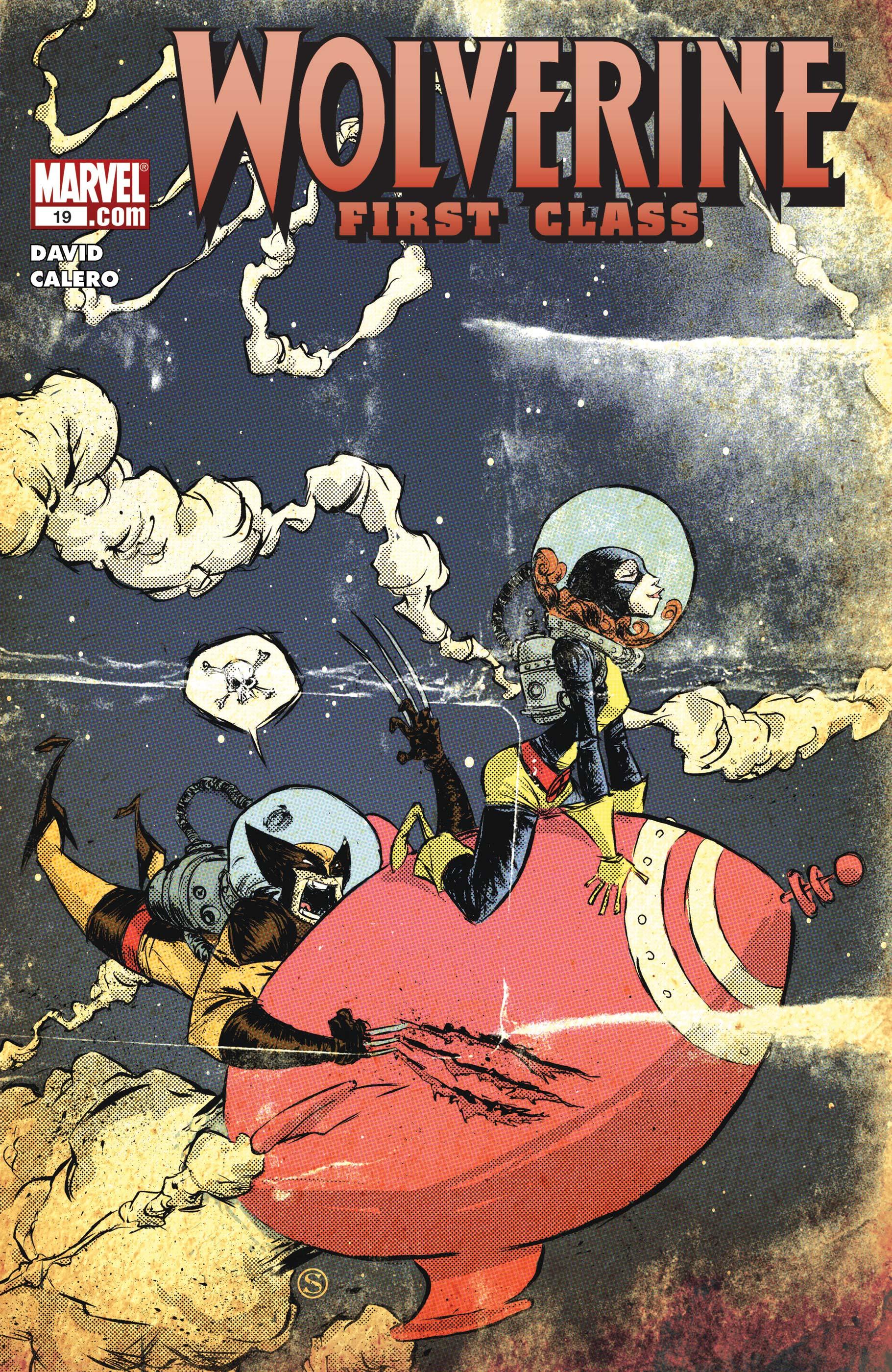Wolverine: First Class (2008) #19