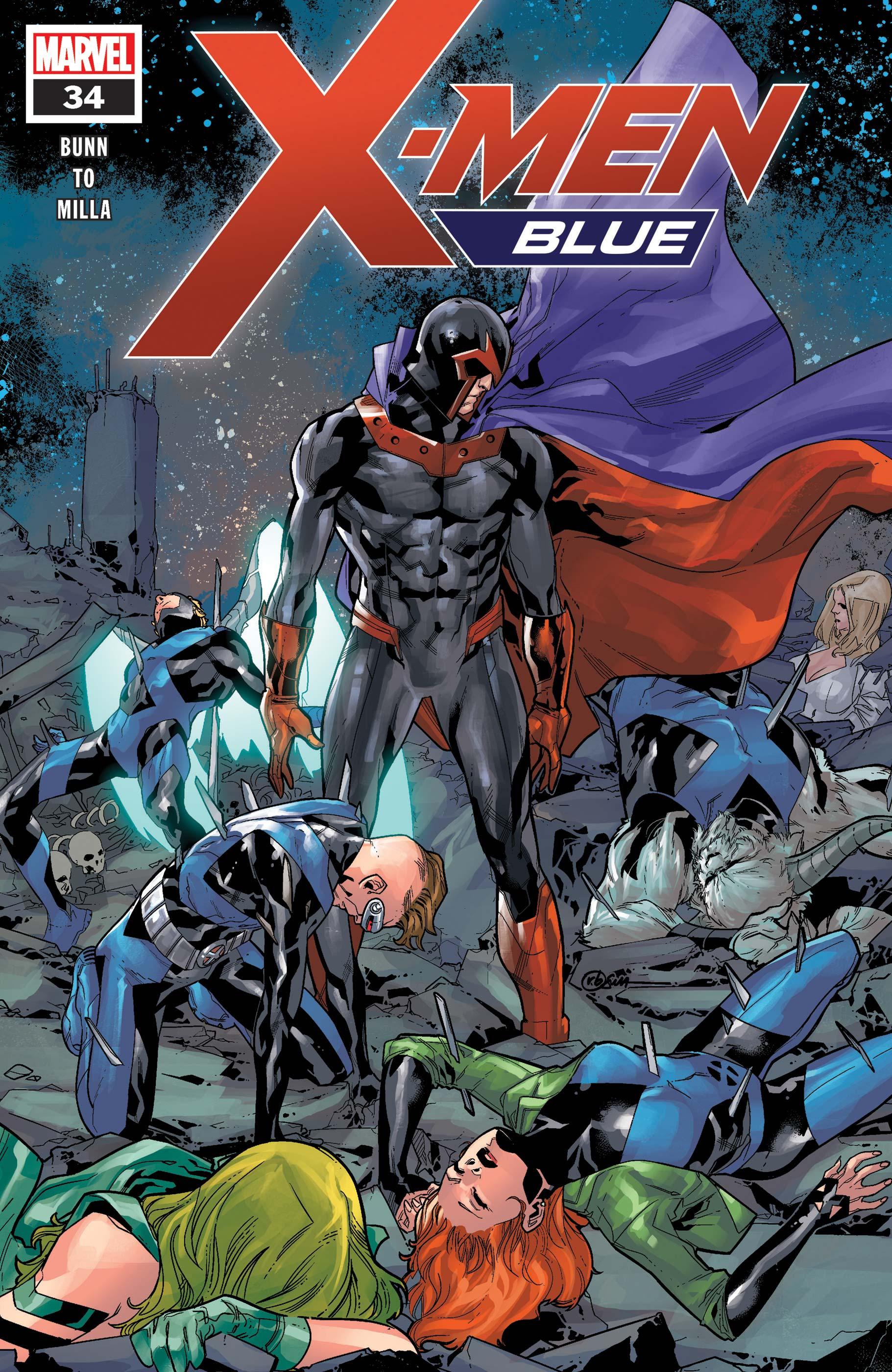 X-Men: Blue (2017) #34