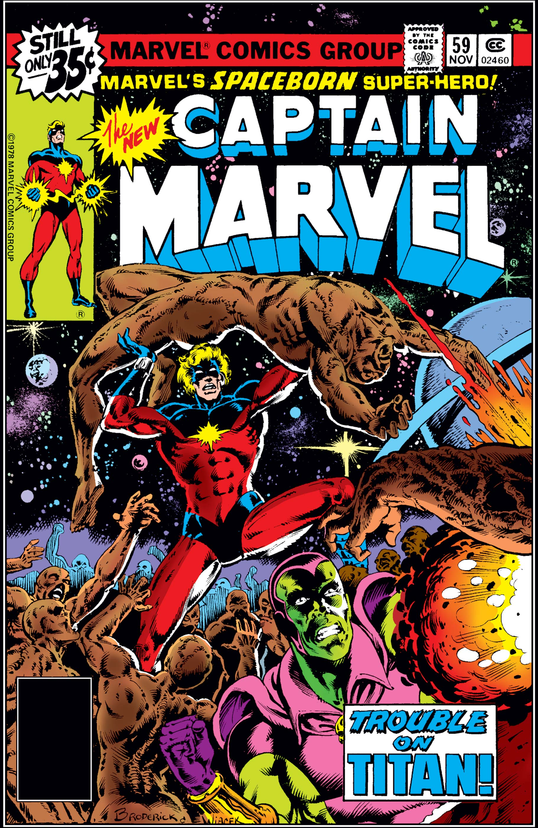 Captain Marvel (1968) #59