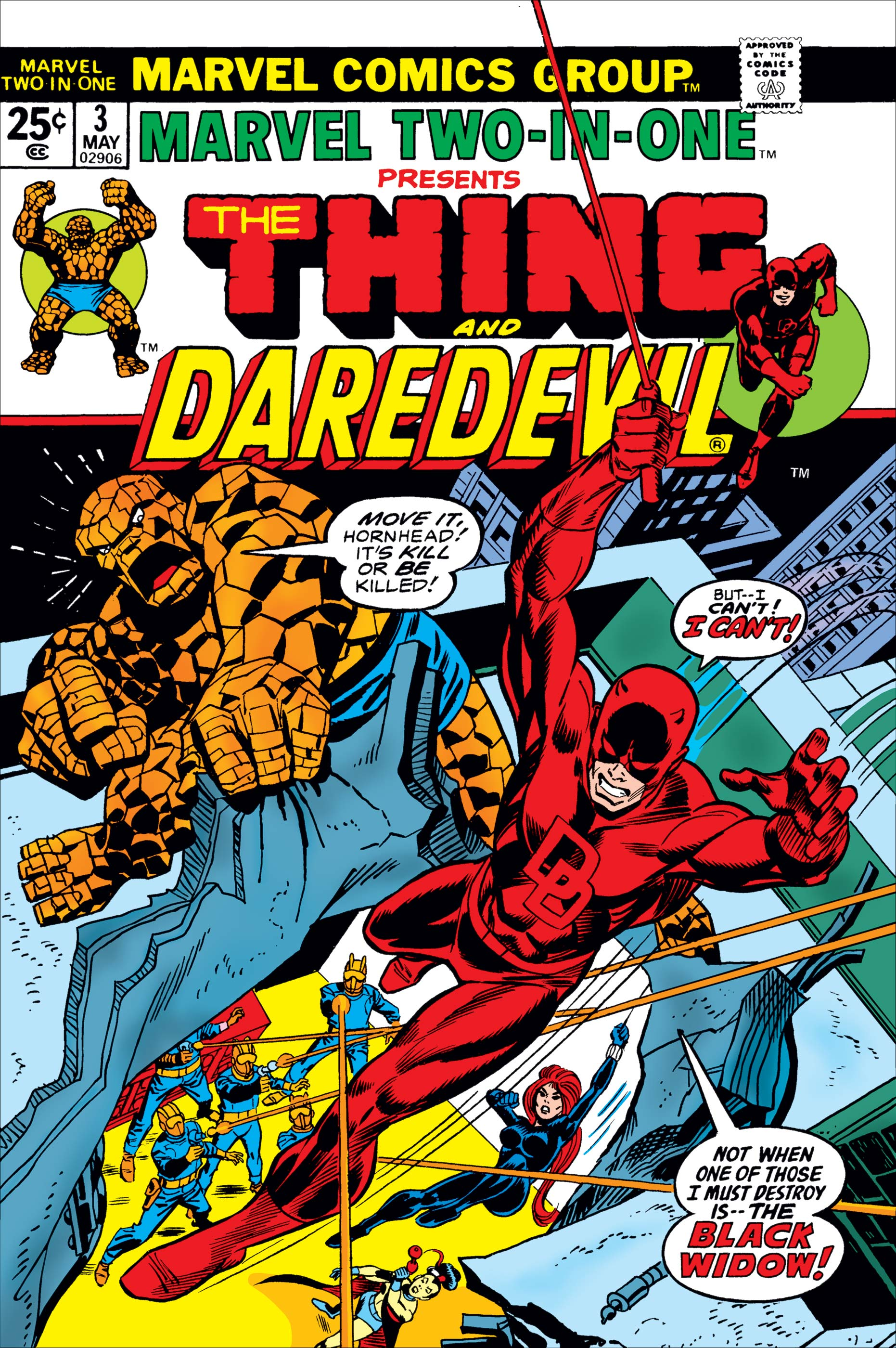 Marvel Two-in-One (1974) #3
