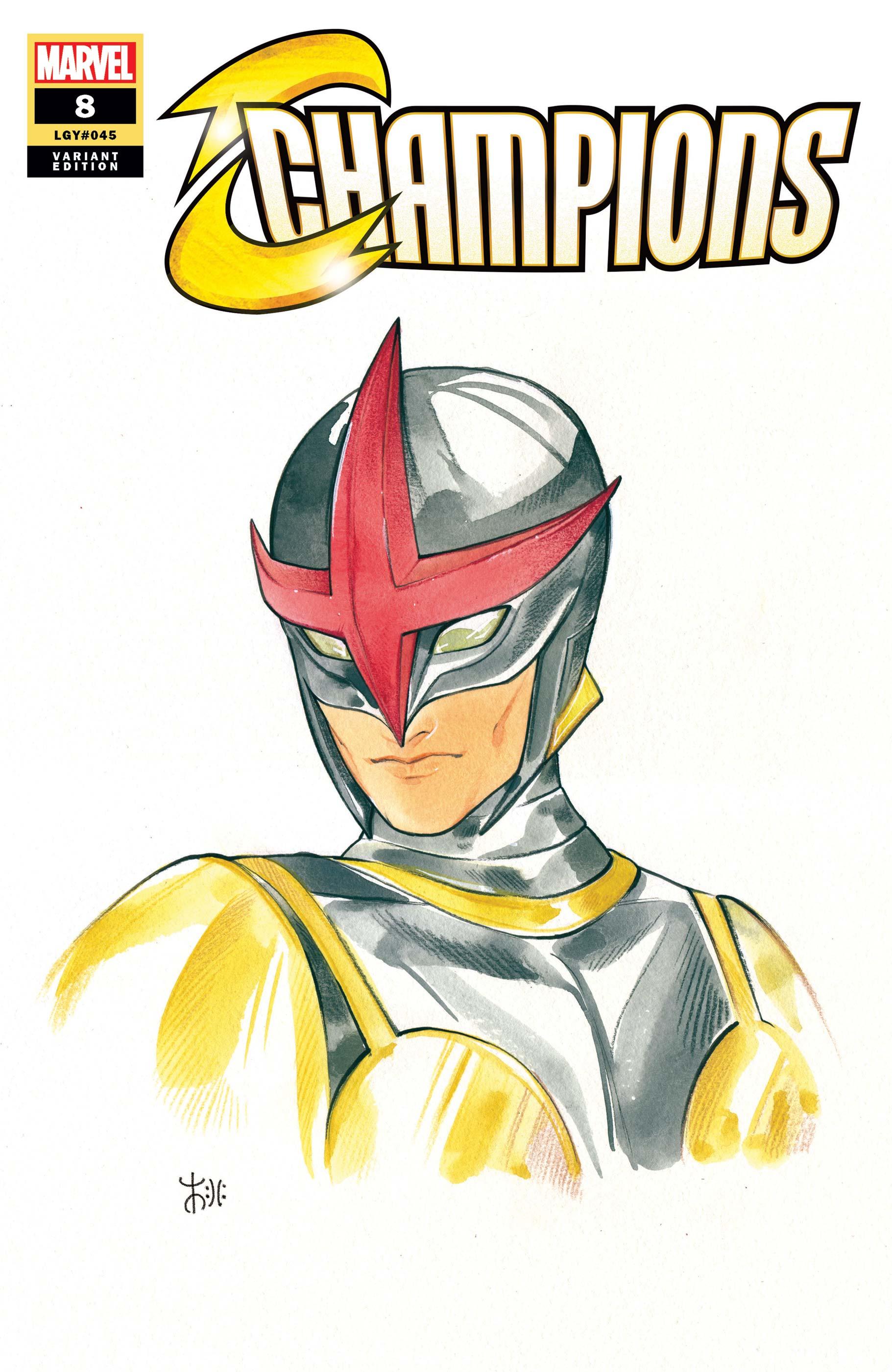 Champions (2020) #8 (Variant)