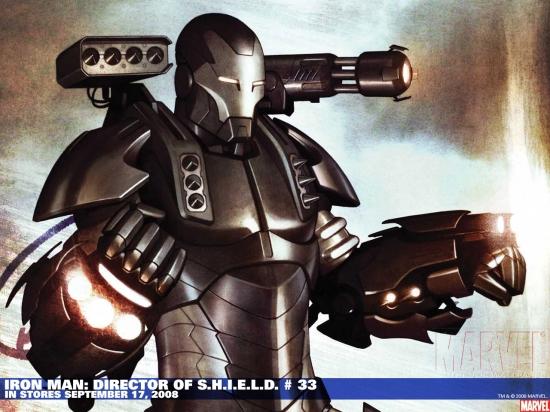 Iron Man: Director of S.H.I.E.L.D. (2007) #33 Wallpaper