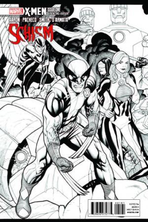 X-Men: Schism (2011) #1 (X Printing Variant)