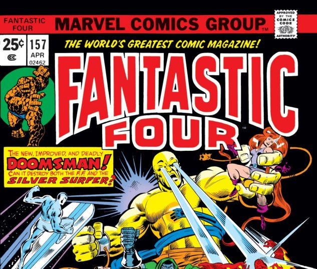 Fantastic Four (1961) #157 Cover