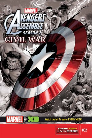 Marvel Universe Avengers Assemble: Civil War #2