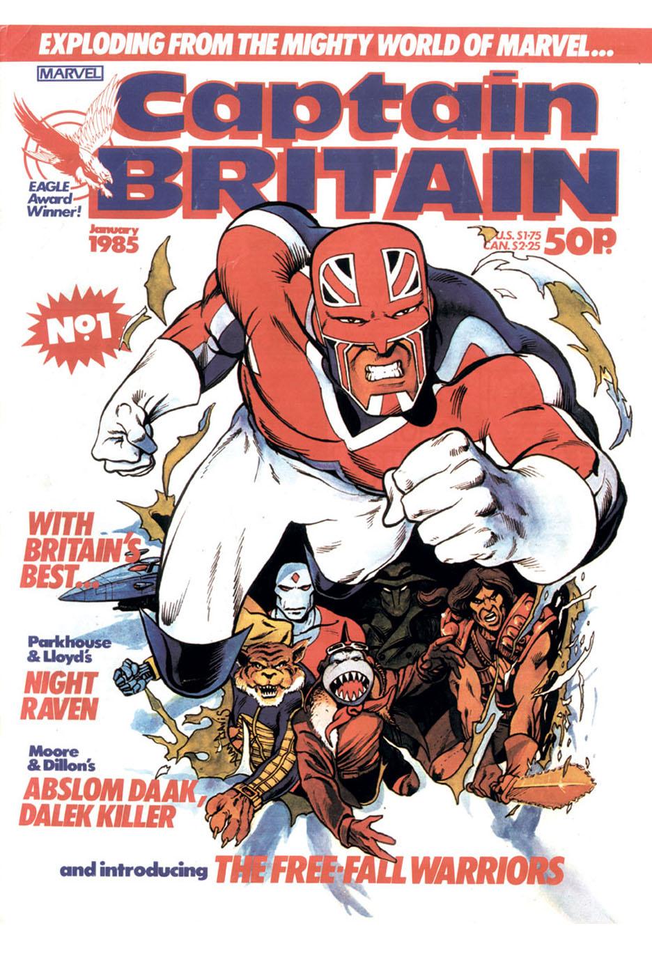 Captain Britain (1985) #1