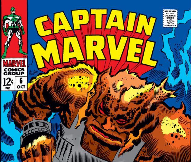 Captain Marvel (1968) #6